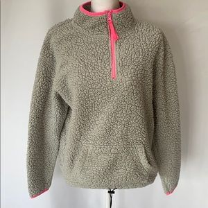 Gray Sherpa sweatshirt